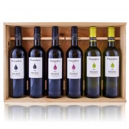 Caixa fusta Plantadeta 6 ampolles